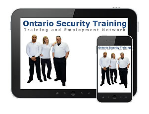 Ontario Security Training